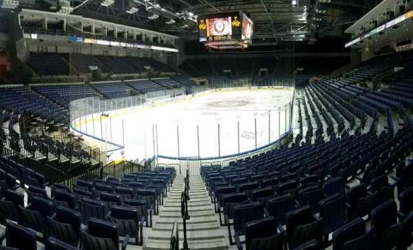 Stockton Arena, secção: 120, fila: 14, lugar: 1