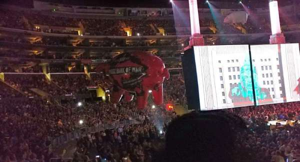 Staples Center, secção: 104, fila: 15, lugar: 11