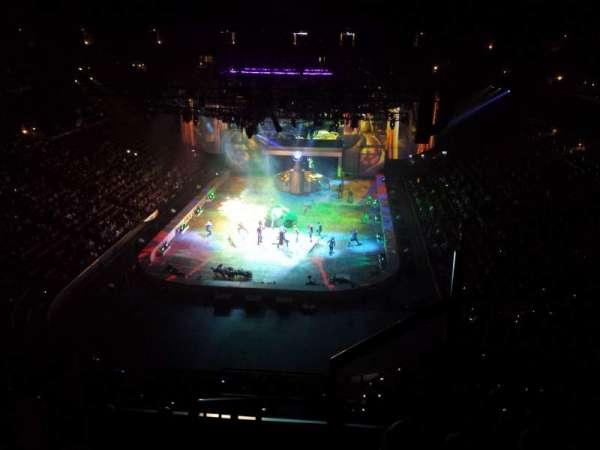 Honda Center, secção: 444, fila: F, lugar: 1