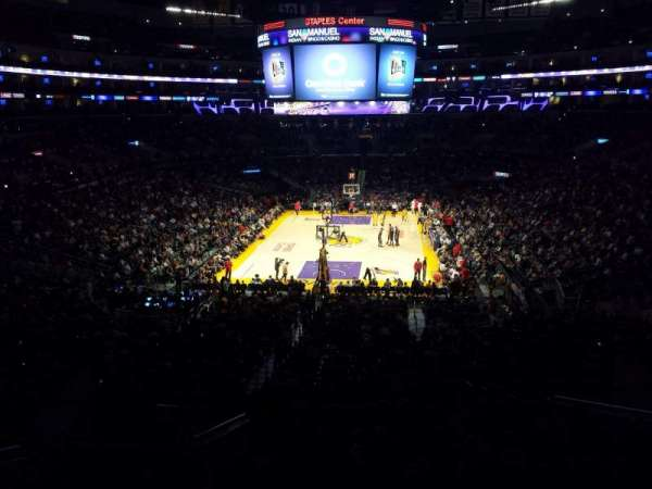 Staples Center, secção: Suite A27, fila: 1, lugar: 1