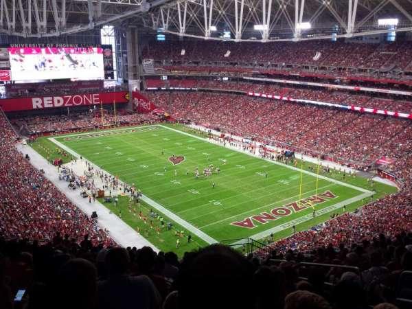 State Farm Stadium, secção: 434, fila: 16, lugar: 1