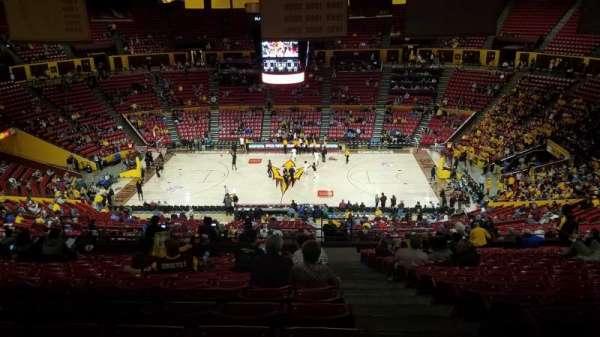 Wells Fargo Arena (Tempe), secção: T1, fila: 41, lugar: 1