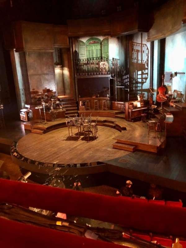 Walter Kerr Theatre, secção: Mezzanine R, fila: A, lugar: 12