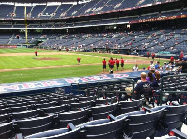 Turner field, secção: 114R, fila: 15, lugar: 6