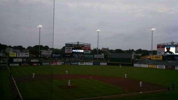 McCoy Stadium, secção: 5, fila: GG, lugar: 3
