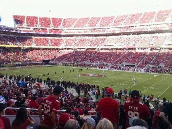 Levi's Stadium, secção: 134, fila: 29, lugar: 12