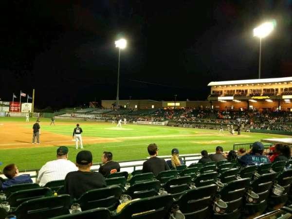 Bethpage Ballpark, secção: 109, fila: H, lugar: 14