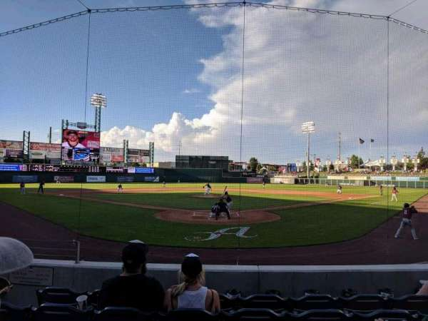 Greater Nevada Field, secção: 109, fila: 11, lugar: 5