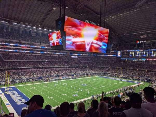 AT&T Stadium, secção: 342, fila: 8, lugar: 6