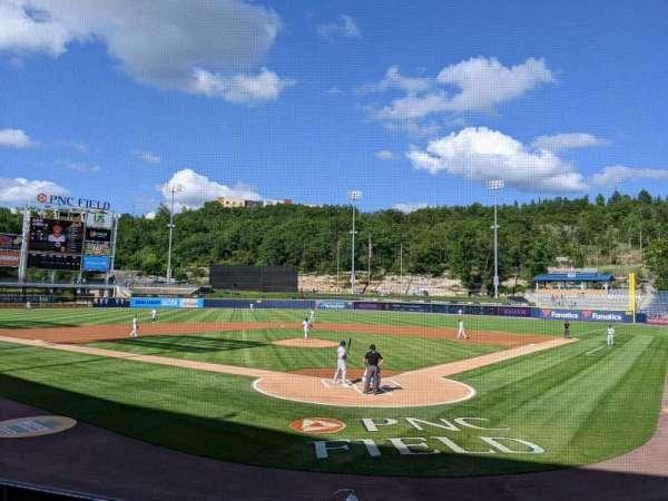 PNC Field, secção: 22, fila: 8, lugar: 1