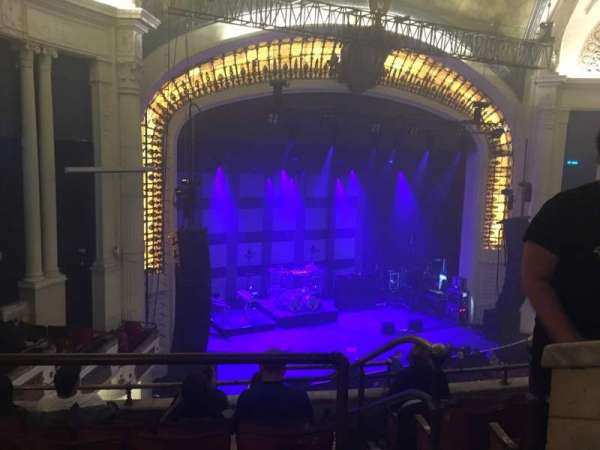 Orpheum Theatre (Boston), secção: Balcony L, fila: F, lugar: 1