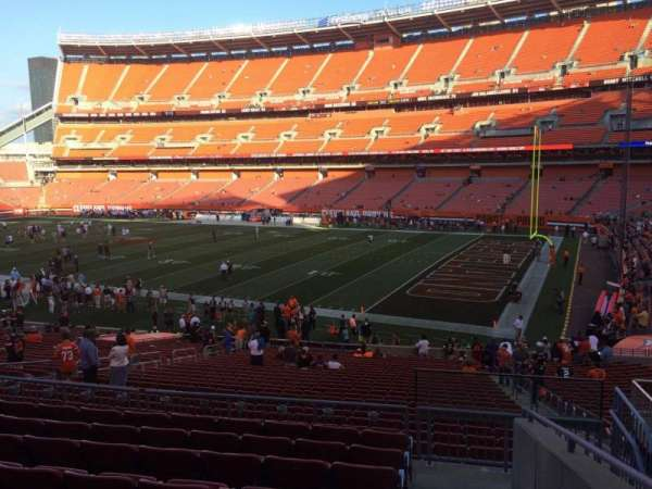 FirstEnergy Stadium, secção: 139, fila: 30, lugar: 14