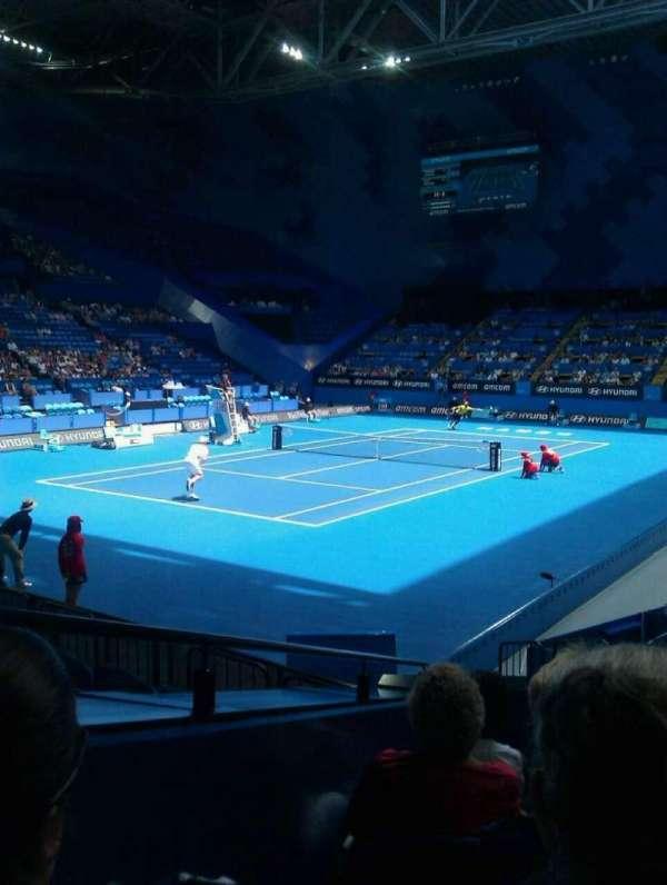 RAC Arena, secção: 207, fila: f, lugar: 9
