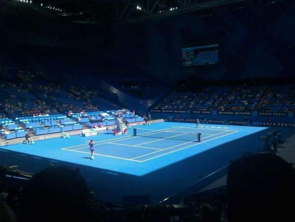 RAC Arena, secção: 207, fila: K, lugar: 9