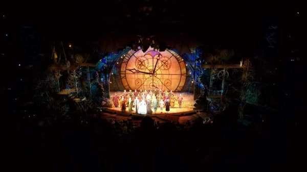 Gershwin Theatre, secção: Rear Mezzanine C, fila: F, lugar: 114