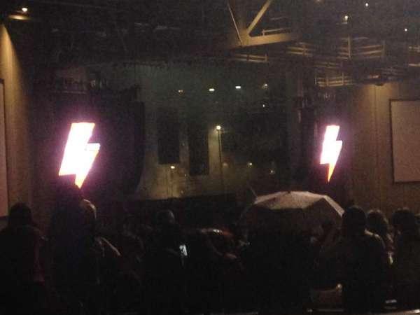 PNC Music Pavilion, secção: 15, fila: A, lugar: 26