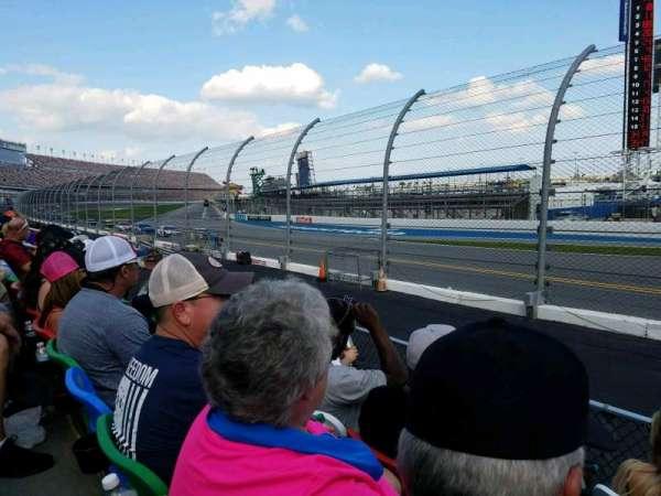 Daytona International Speedway, secção: 173, fila: 4, lugar: 1