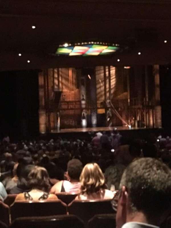 Fox Theatre (Atlanta), secção: Orchestra LC, fila: RR, lugar: 75