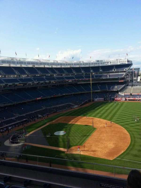 Yankee Stadium, secção: 315, fila: 6, lugar: 2