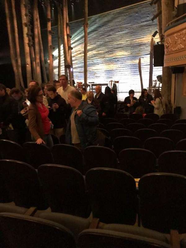Gerald Schoenfeld Theatre, secção: Orchestra L, fila: K, lugar: 14