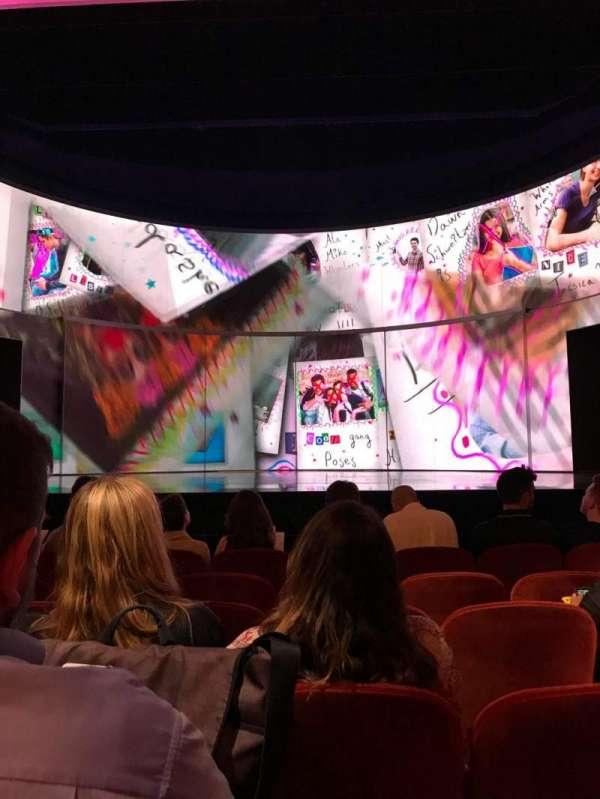 August Wilson Theatre, secção: Orchestra R, fila: F, lugar: 106