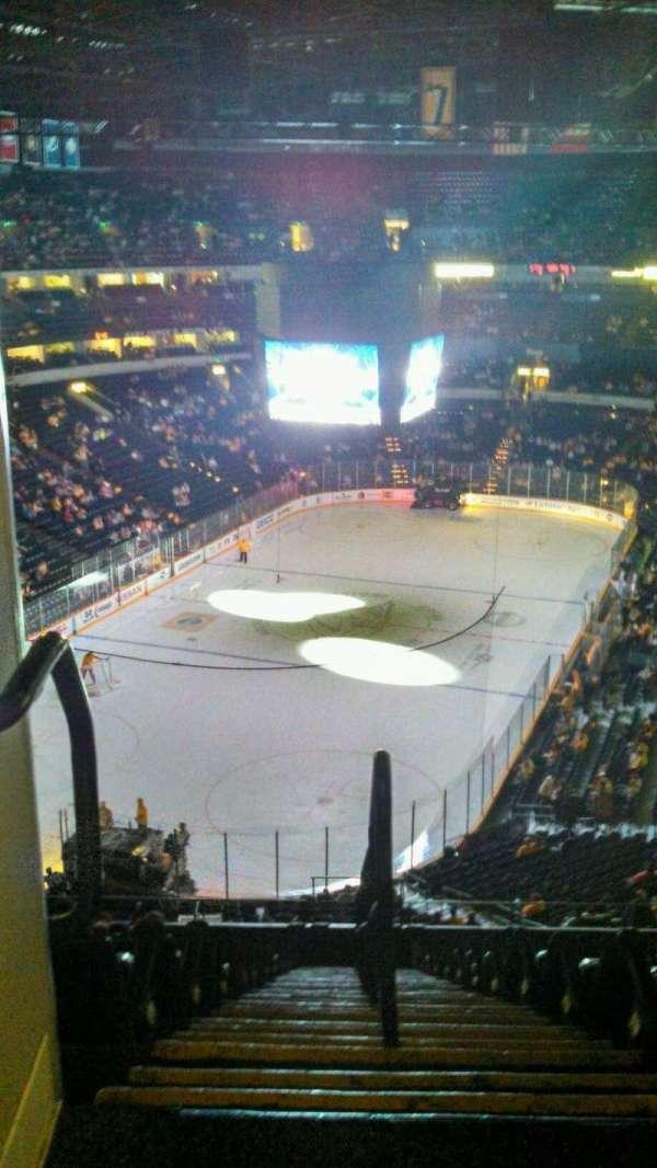 Bridgestone Arena, secção: 321