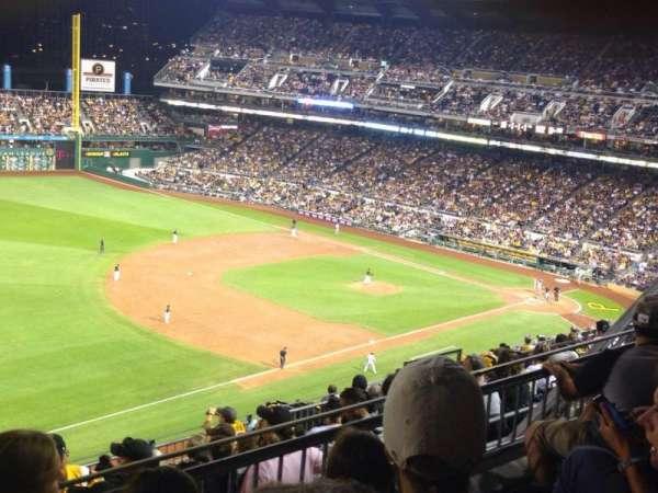 PNC Park, secção: 329, fila: K, lugar: 16