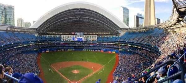 Rogers Centre, secção: 524AL, fila: 18, lugar: 101-102