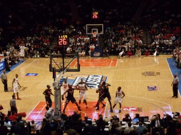 Madison Square Garden, secção: 112, fila: 20