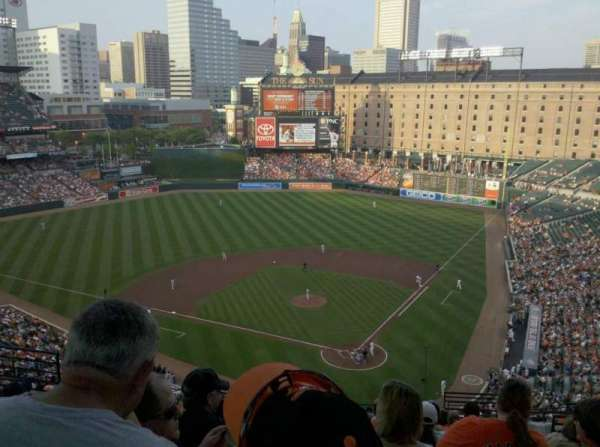 Oriole Park at Camden Yards, secção: 342