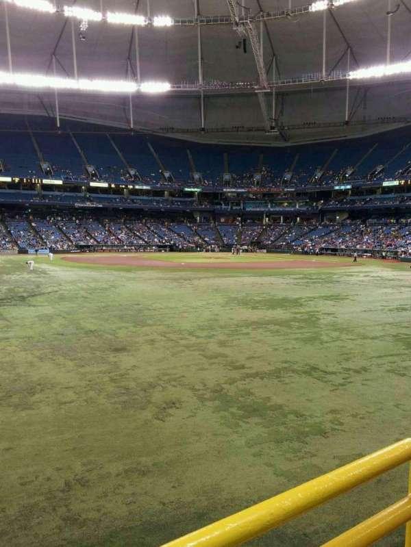Tropicana Field, secção: Center Field