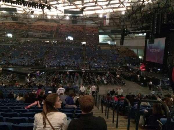 Tacoma Dome, secção: 8A, fila: 33, lugar: 1