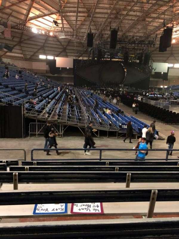 Tacoma Dome, secção: 1A, fila: 21, lugar: 24