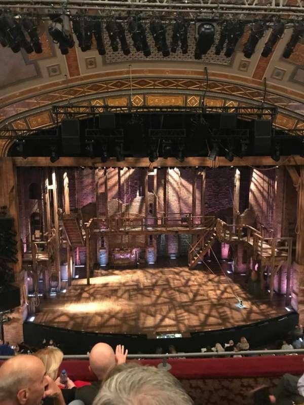 Richard Rodgers Theatre, secção: Front Mezzanine C, fila: D, lugar: 111