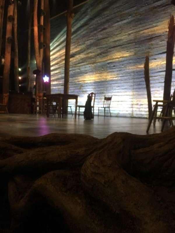 Gerald Schoenfeld Theatre, secção: Orchestra R, fila: A, lugar: 8