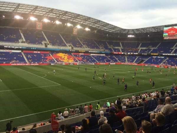Red Bull Arena (New Jersey), secção: 113, fila: 16, lugar: 17