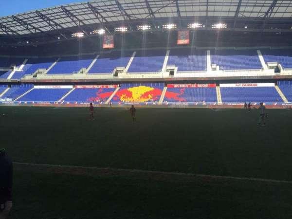 Red Bull Arena (New Jersey), secção: 108, fila: 1