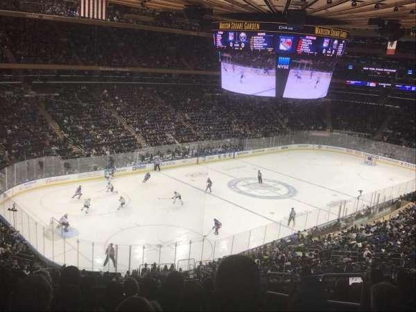 Madison Square Garden, secção: 220, fila: 9, lugar: 23
