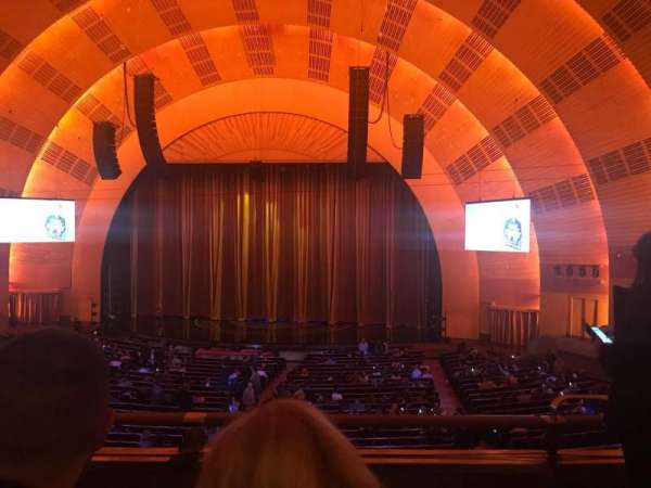 Radio City Music Hall, secção: 1st Mezzanine 3, fila: C, lugar: 302