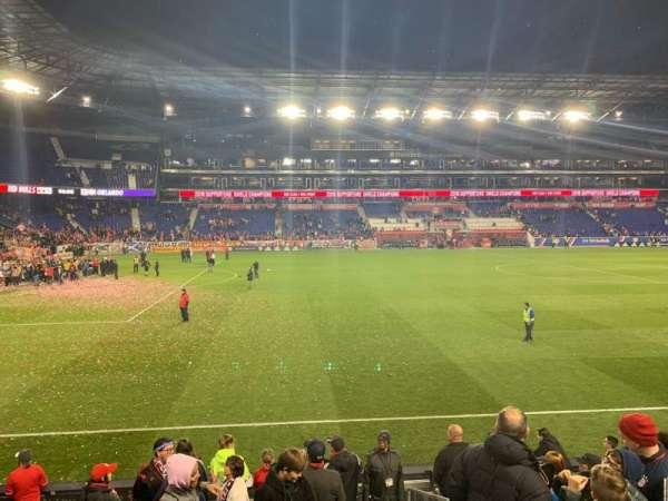 Red Bull Arena, secção: 128, fila: 9, lugar: 1