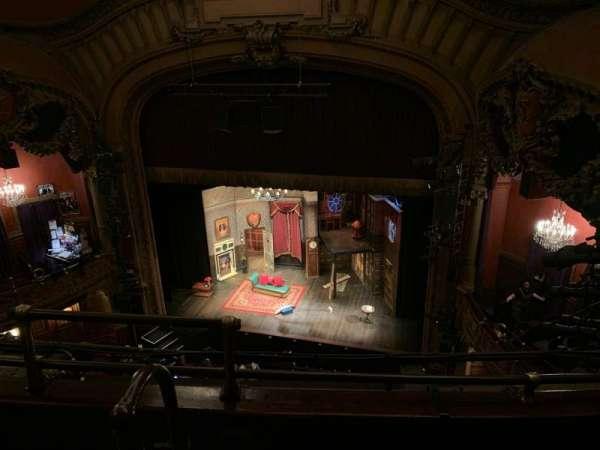 Lyceum Theatre (Broadway), secção: Balcony R, fila: C, lugar: 4