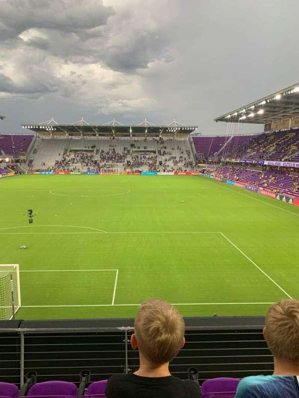 Exploria Stadium, secção: 103, fila: D, lugar: 18