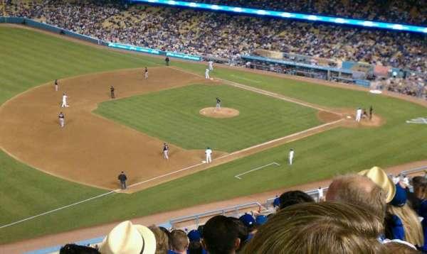 Dodger Stadium, secção: 31rs, fila: n, lugar: 11
