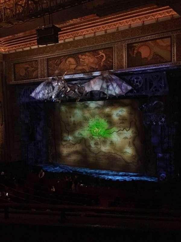 Hollywood Pantages Theatre, secção: Mezzanine R, fila: C, lugar: 8