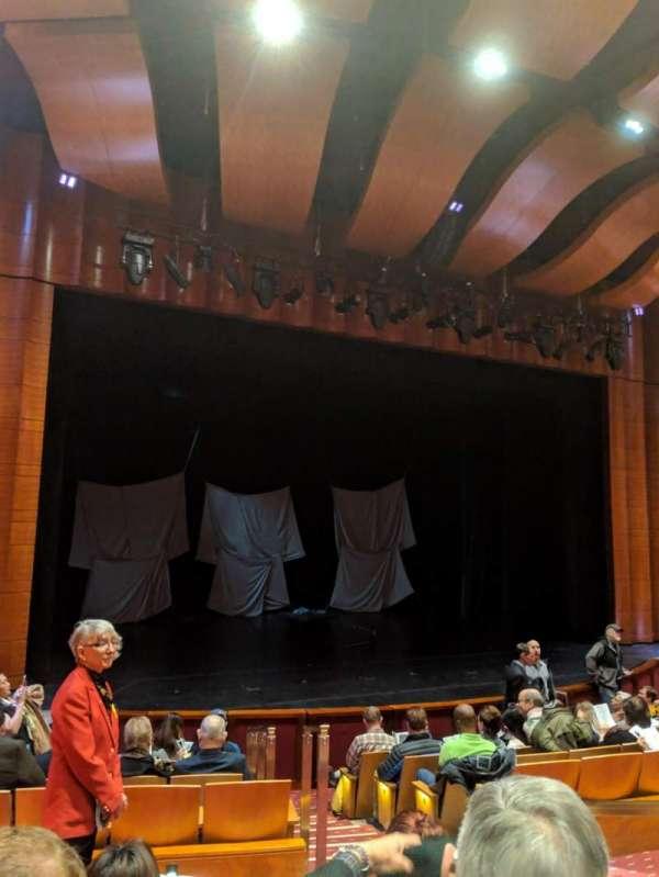 The Kennedy Center Terrace Theater, secção: Orch, fila: J, lugar: 5