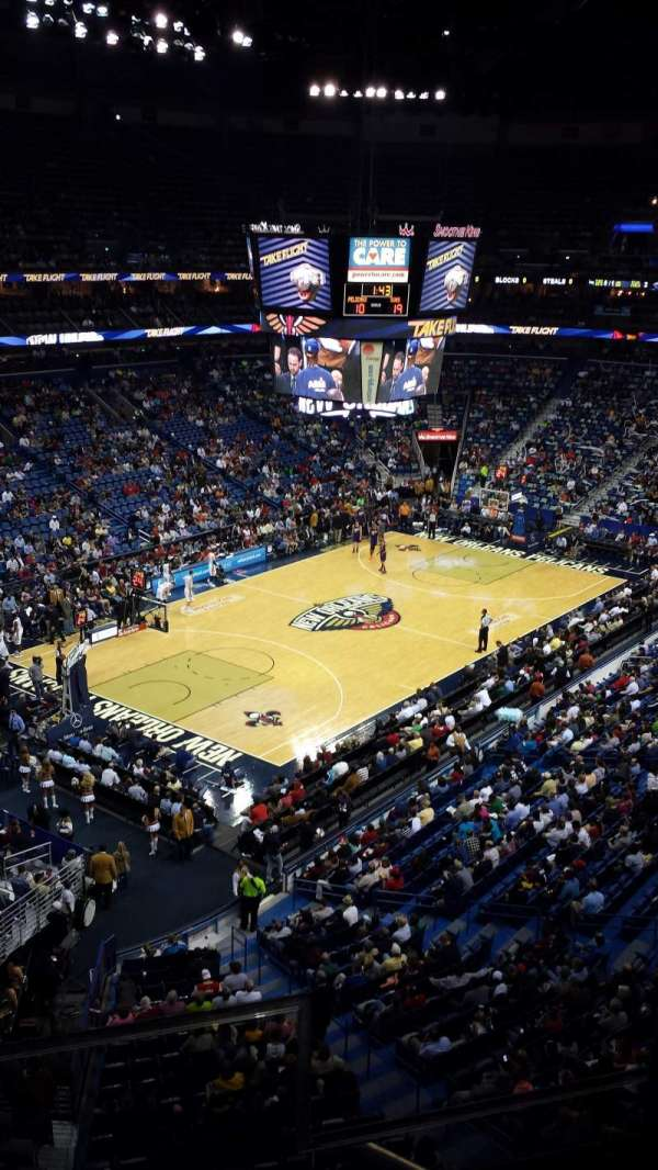 Smoothie King Center, secção: 305, fila: 2, lugar: 2