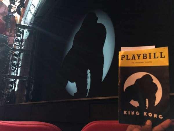 Broadway Theatre - 53rd Street, secção: Orchestra, fila: C, lugar: 9