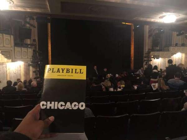 Ambassador Theatre, secção: Orchestra L, fila: Standing Room, lugar: 17