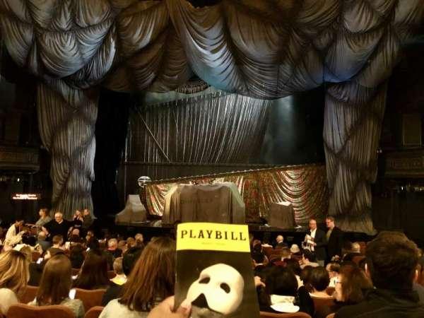 Majestic Theatre, secção: Orchestra C, fila: M, lugar: 112