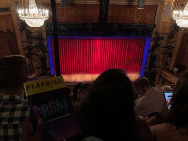 Longacre Theatre, secção: Balcony C, fila: E, lugar: 111